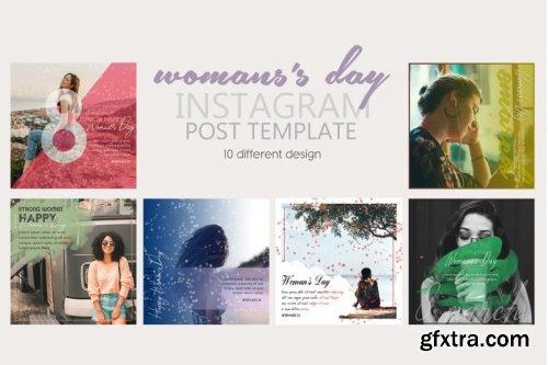 Instagram Post Template Women's Day