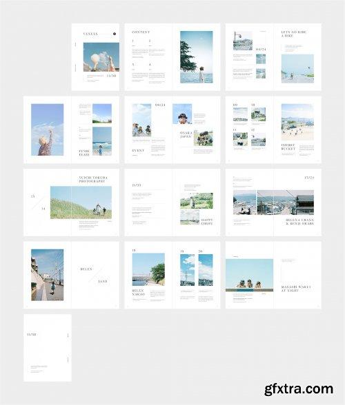 CreativeMarket - VENUES Travel Magazine 3545403