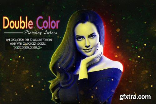 Double Color Photoshop Action
