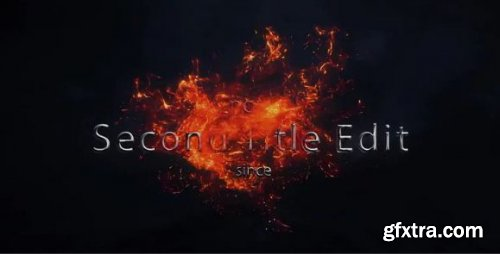 Fire Text Logo Opener - After Effects 186645