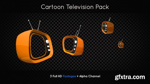 Funny Cartoon Television Pack 176784