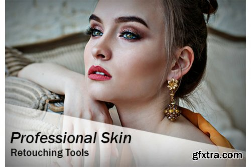 Professional Skin Retouch Tools (Action & Brushes)