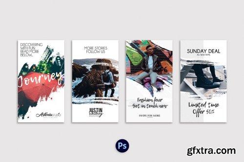 CreativeMarket - Stories Agenda 2111598