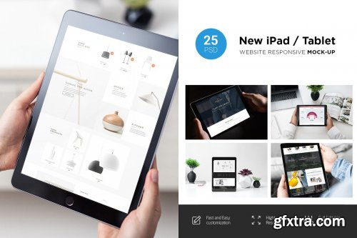 CreativeMarket - New iPad Responsive Mock-Up 2928810