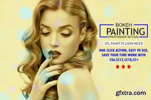 Bokeh Painting Photoshop Action