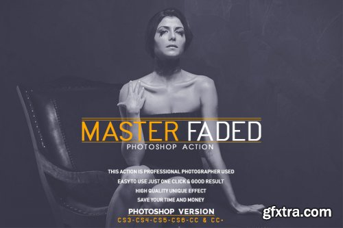 Master Faded Photoshop Action