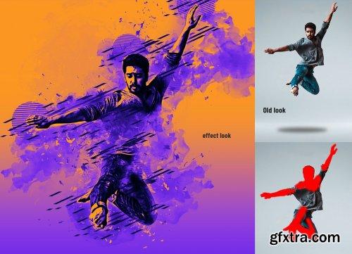 CreativeMarket - Ink Manipulation Photoshop Action 2