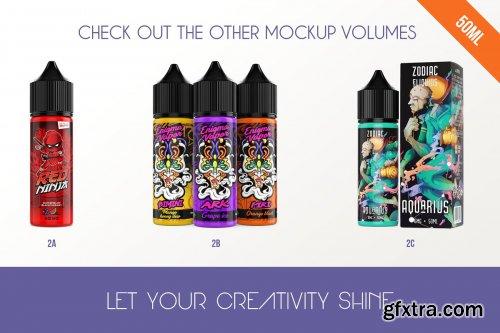 CreativeMarket - eLiquid Bottle Mockup v. 2B 3524060