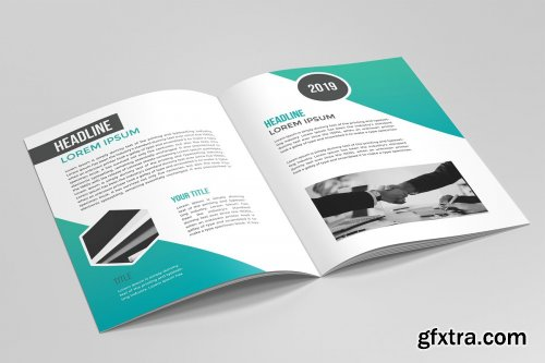 CreativeMarket - Business Brochure Template 02 3590159