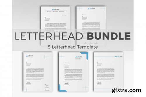 Letterhead Bundle with MS Word