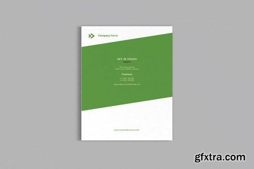 CreativeMarket - Bizy - A4 Business Brochure 3556187