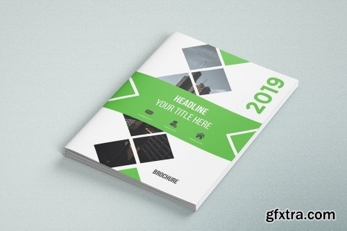 CreativeMarket - Business Brochure Template 05 3590230