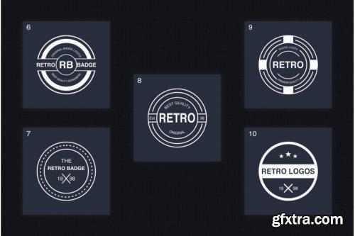 Retro Logo Template VOL.01