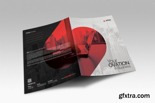 CreativeMarket - Presentation Folder 3533286
