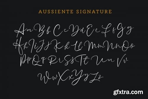 CreativeMarket - Aussiente Signature - Script 3495780