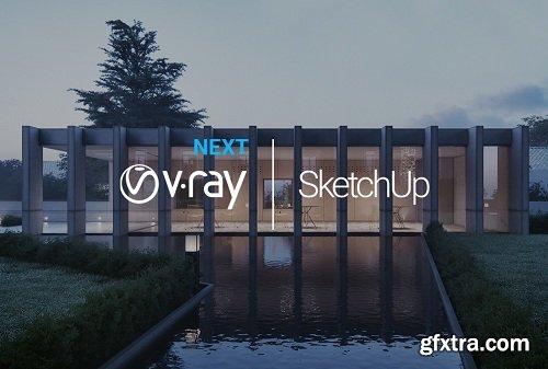 Chaos Group V-Ray Next (Build 4.00.01) SketchUp 2015 - 2019