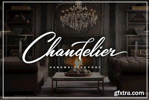 Chandelier Font Family