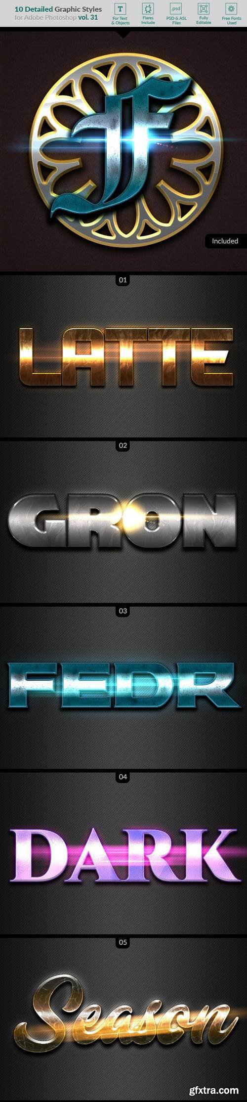Graphicriver - 10 Text Effects Vol. 31 22672051
