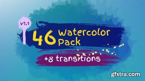 MotionArray Watercolor Pack 59899