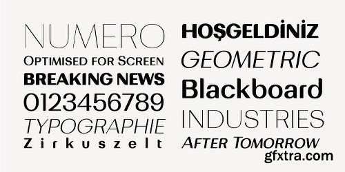 Bodrum Sweet Font Family - 20 Fonts