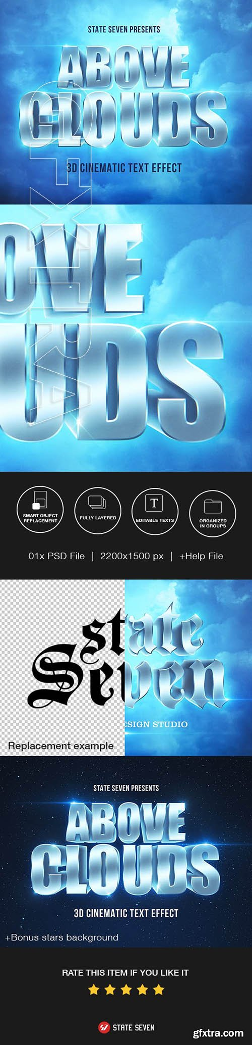 GraphicRiver - Cinematic 3D Text Effect 23544868