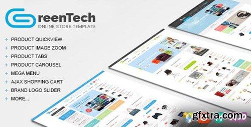 ThemeForest - GreenTech v1.4 - Shopping Responsive WooCommerce Theme - 13571169