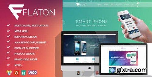 ThemeForest - Flaton v1.6 - WooCommerce Responsive Digital Theme - 14288646