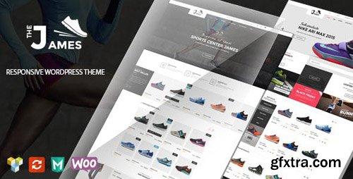 ThemeForest - James v1.5.1 - Responsive WooCommerce Shoes Theme - 15156133