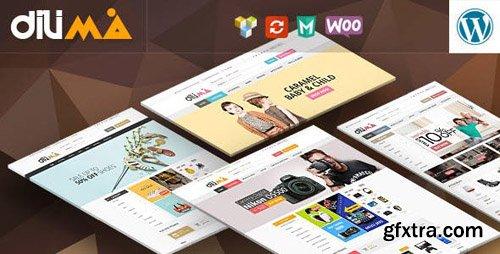 ThemeForest - Dilima v1.3 - Mega Store Responsive WooComerce Theme - 15250163