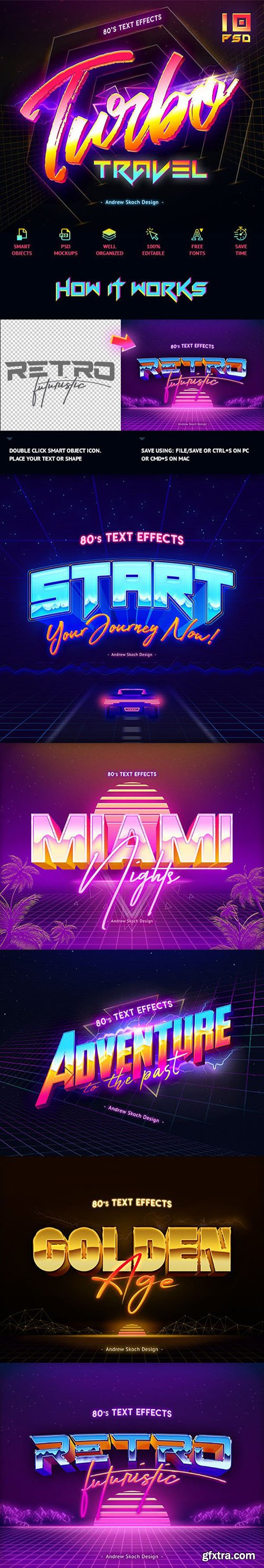 80's Text Effects vol.2 23558050
