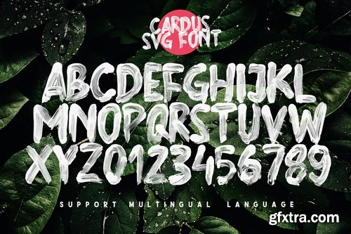 CM - Cardus Brush SVG Font 3672366