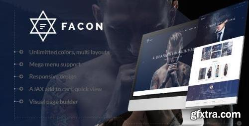 ThemeForest - Facon v1.2 - Fashion Responsive WordPress Theme - 17430714