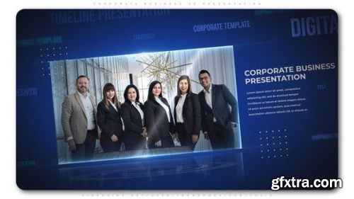 Videohive Corporate Business 3D Presentation 23558326