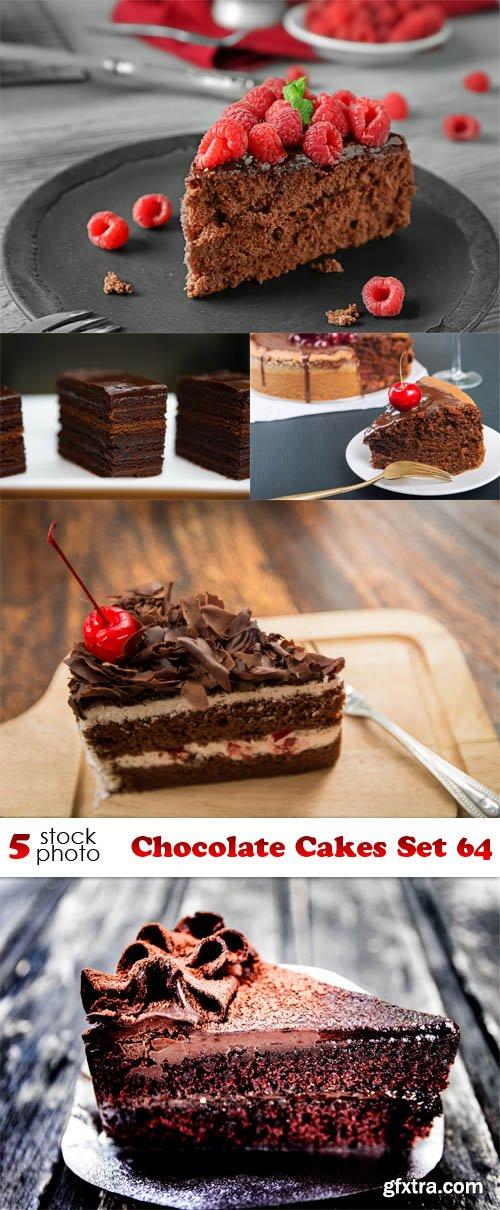 Photos - Chocolate Cakes Set 64