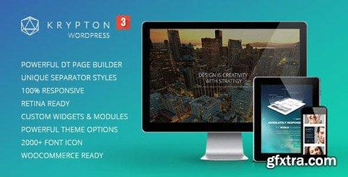 ThemeForest - Krypton v3.0.4 - Responsive Multipurpose WordPress Theme - 6899059