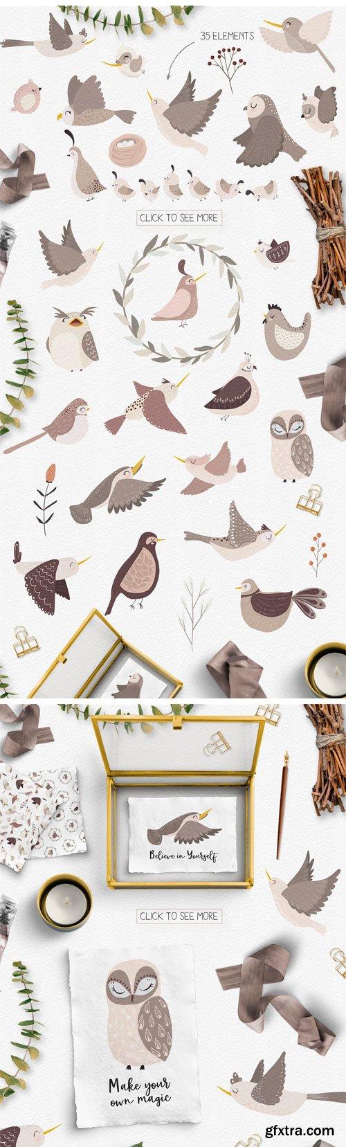 CM - Spring Birds Set 3425320