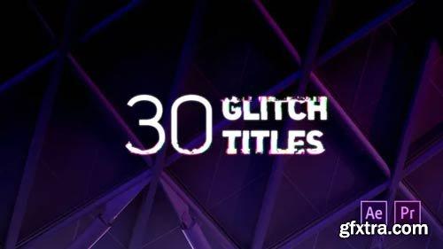 Videohive - Glitch Titles - 22500592