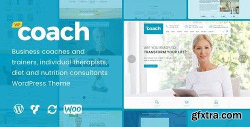 ThemeForest - WP Coach v1.2.4 - Life Health and Business Coach WordPress Theme - 17418458