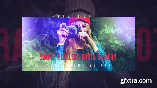Videohive Simple Parallax Photo Gallery 13019942
