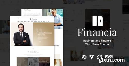 ThemeForest - Financia v1.0.3 - Business and Finance WordPress Theme - 15483004