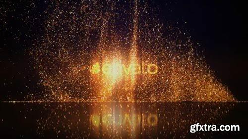 Videohive - Gold Glitters Logo Reveal - 21373742