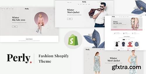 ThemeForest - Perly v1.0.0 - Fashion Shopify Theme - 23519513