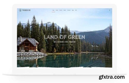 YooTheme - Pinewood Lake v1.19.1 - Joomla Theme