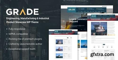 ThemeForest - Grade v1.0.5 - Engineering, Manufacturing & Industrial Product Showcase WP Theme - 17334925