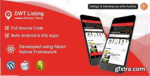CodeCanyon - DWT Listing v1.0.0 - Directory & Listing React Native App - 23428441