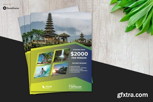 Holiday Travel Flyer vol.5