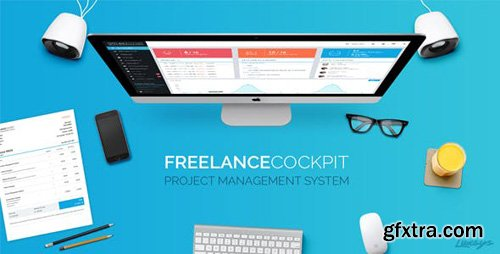 CodeCanyon - Freelance Cockpit 3 v3.3.1 - Project Management and CRM - 4203727 - NULLED