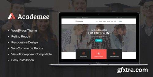 ThemeForest - Academee v1.1 - Education Center & Training Courses WordPress Theme - 20018497