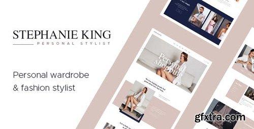ThemeForest - S.King v1.1 - Personal Stylist and Fashion Blogger WordPress Theme - 20308834