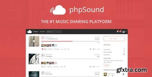 CodeCanyon - phpSound v4.5.0 - Music Sharing Platform - 9016117